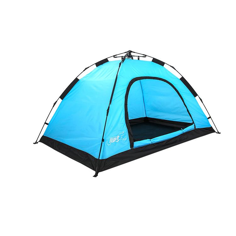 领路者lz 0531户外帐篷旅行帐篷野营帐篷自动拉绳伞架
