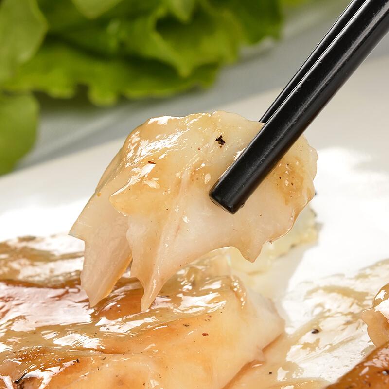 蓝雪 冷冻智利银鳕鱼扒 300g 1-3块 犬牙鱼 儿童宝宝辅食 海鲜水产