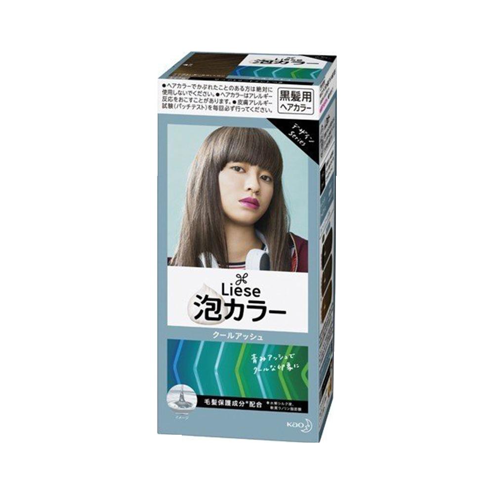 KAO 花王 PRETTIA泡沫染发剂 白金浅驼(新旧包装随机发货)1盒