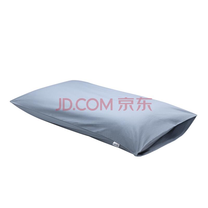 睡眠博士(AiSleep)四季通用全棉枕套 单个装 蓝色 74*48cm,睡眠博士(AiSleep)