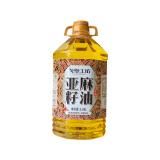 戈壁工坊物理压榨亚麻籽油醇香月子食用油3.68L 适用孕妇宝宝,戈壁工坊