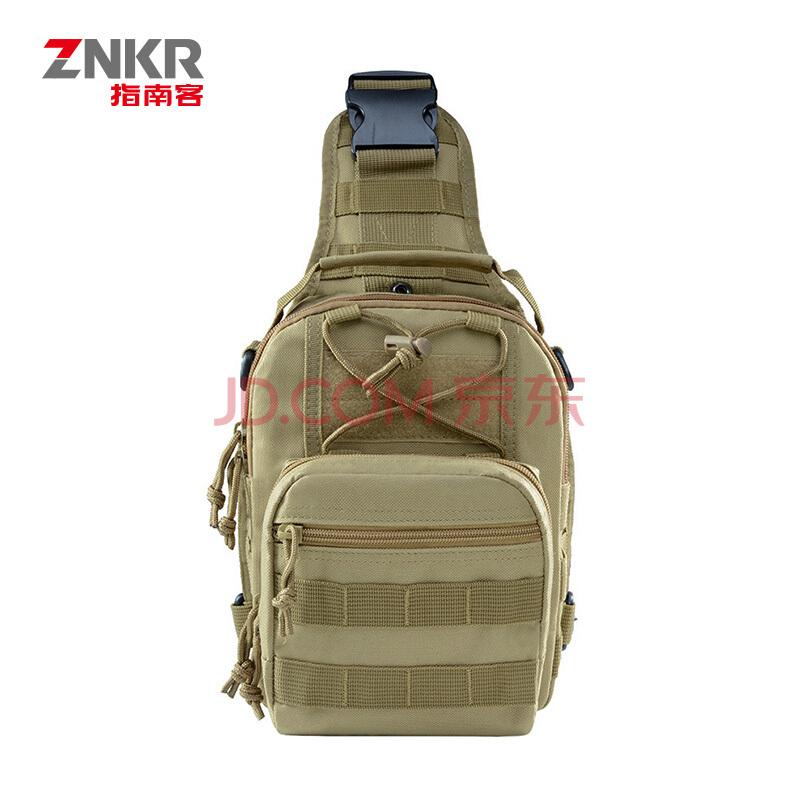 指南客城市猎人 单肩包 时尚斜挎包 运动装备包 潮流小通勤包 Z1904-99 ACU 迷彩,指南客