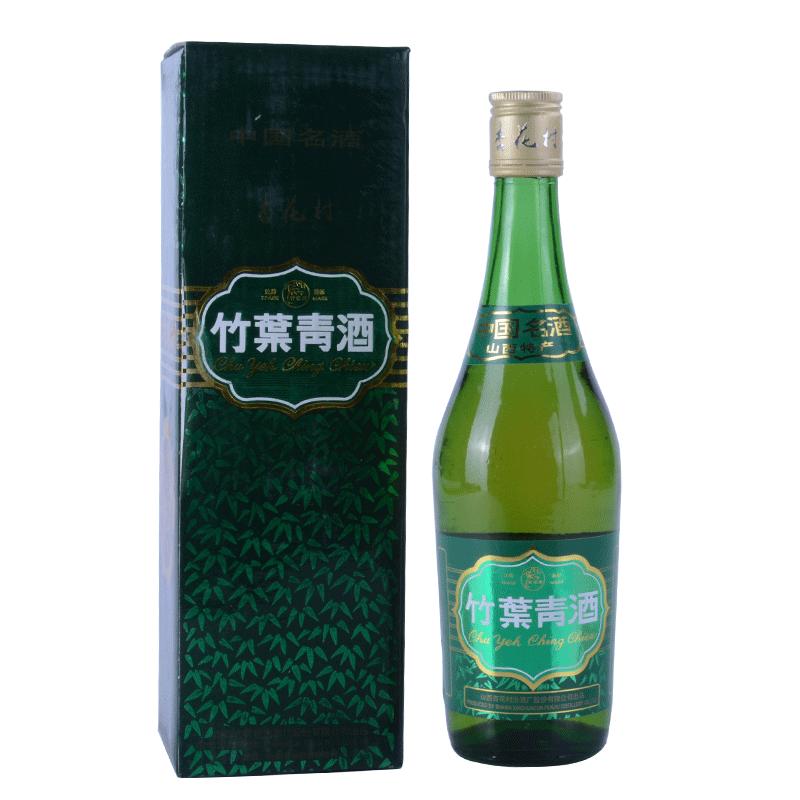 陈年老酒 竹叶青 2004-2005年 38度 500ml 单瓶