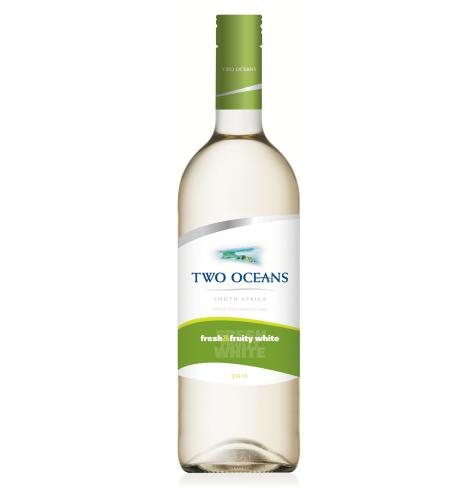 南非雙洋清爽果香白葡萄酒