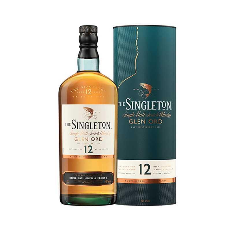 苏格登格兰欧德12年单一麦芽苏格兰威士忌700毫升