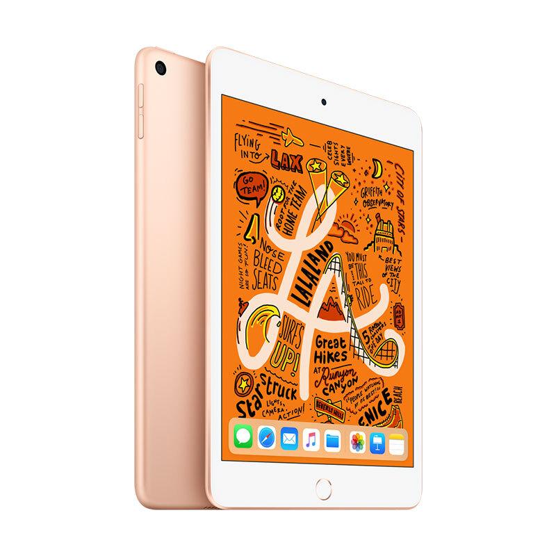Apple iPad mini 2019年新款平板電腦 7.9英寸(64G WLAN版/A12芯片/Retina顯示屏/MUQY2CH/A)金色