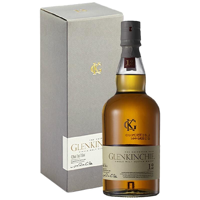 格兰昆奇12年单一麦芽苏格兰威士忌700毫升