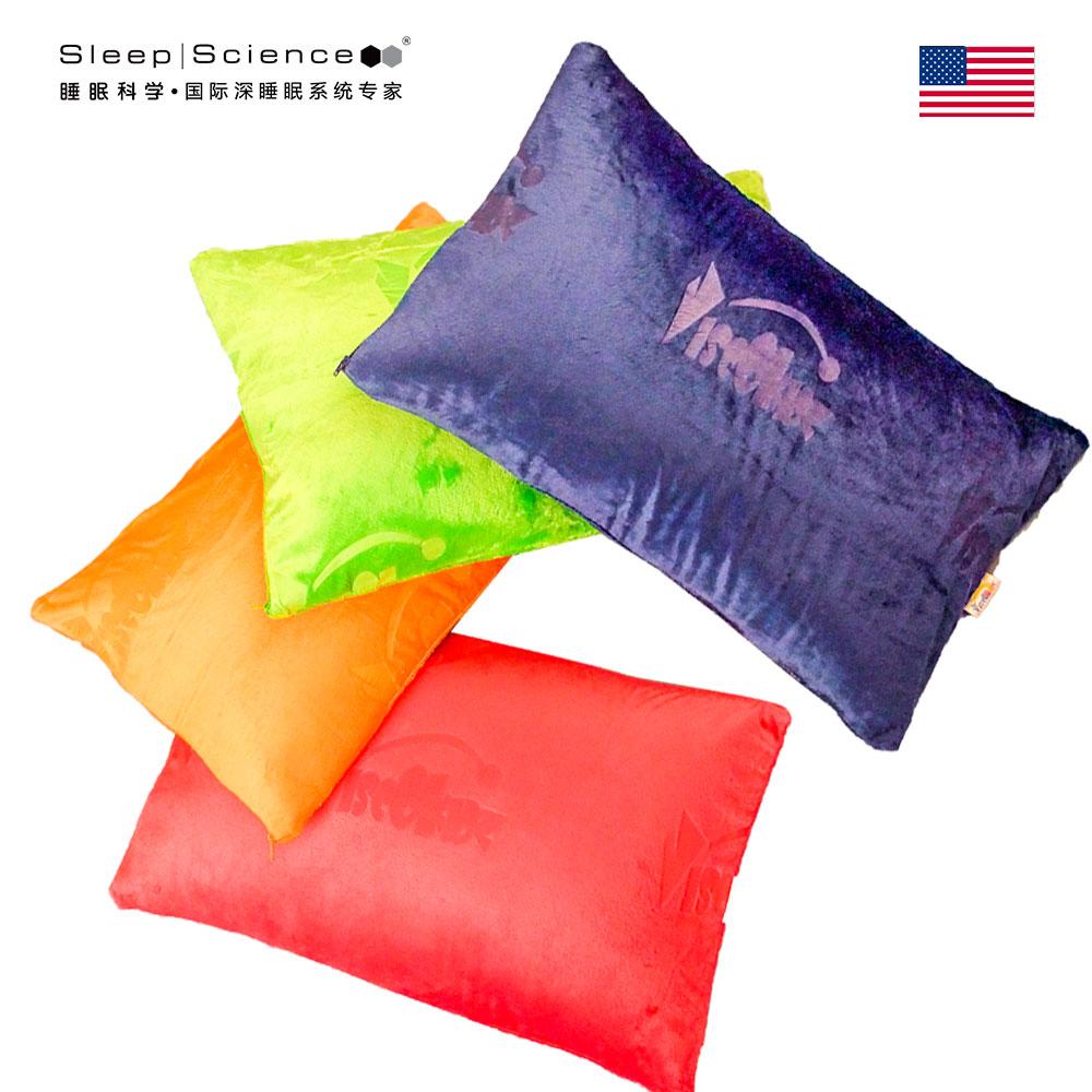 Sleep Science美国睡眠科学枕头枕芯慢回弹记忆棉枕头颈椎枕儿童彩色抱枕