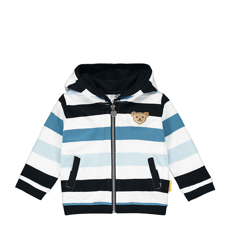 Steiff婴儿针织开襟衫 德国进口 婴儿条纹外套 L002011204