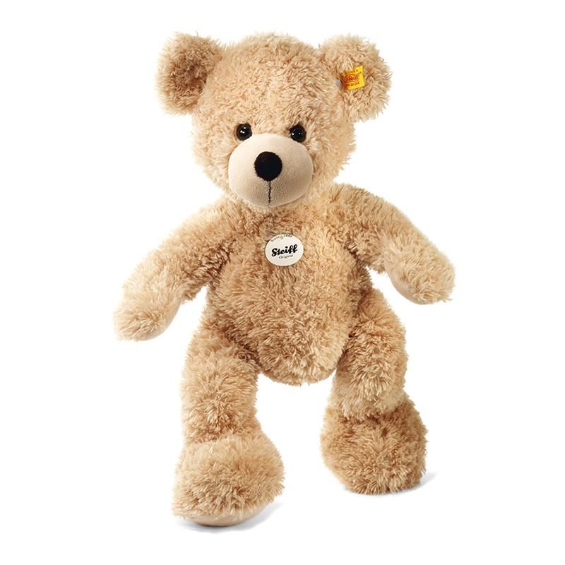 德国Steiff毛绒玩具Fynn泰迪熊米色 40cm 4001505111679