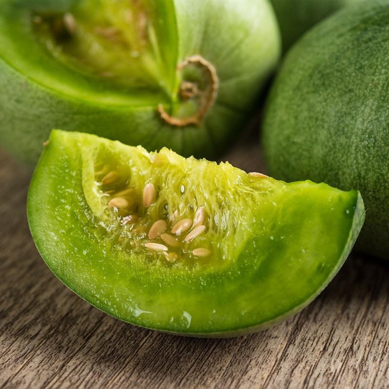信農宜食 遼寧綠寶甜瓜 單果300-400g(5斤/箱)
