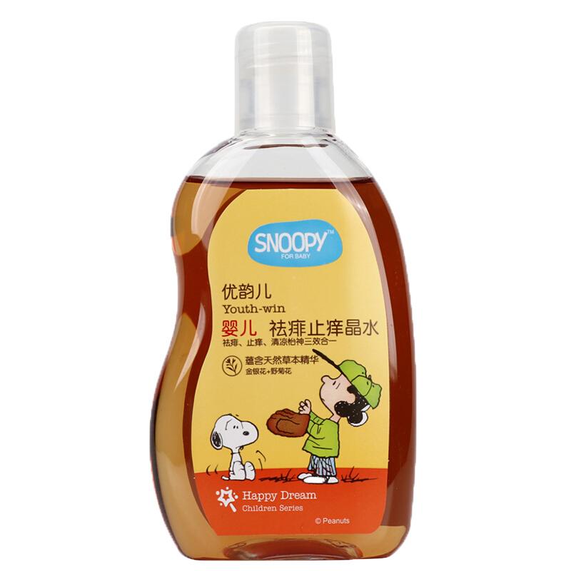 SNOOPY婴儿祛痱止痒晶水100ml(3瓶)