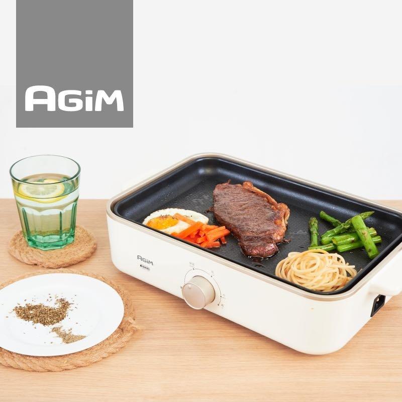 agim xg-810 网红料理锅 电烤炉厨具