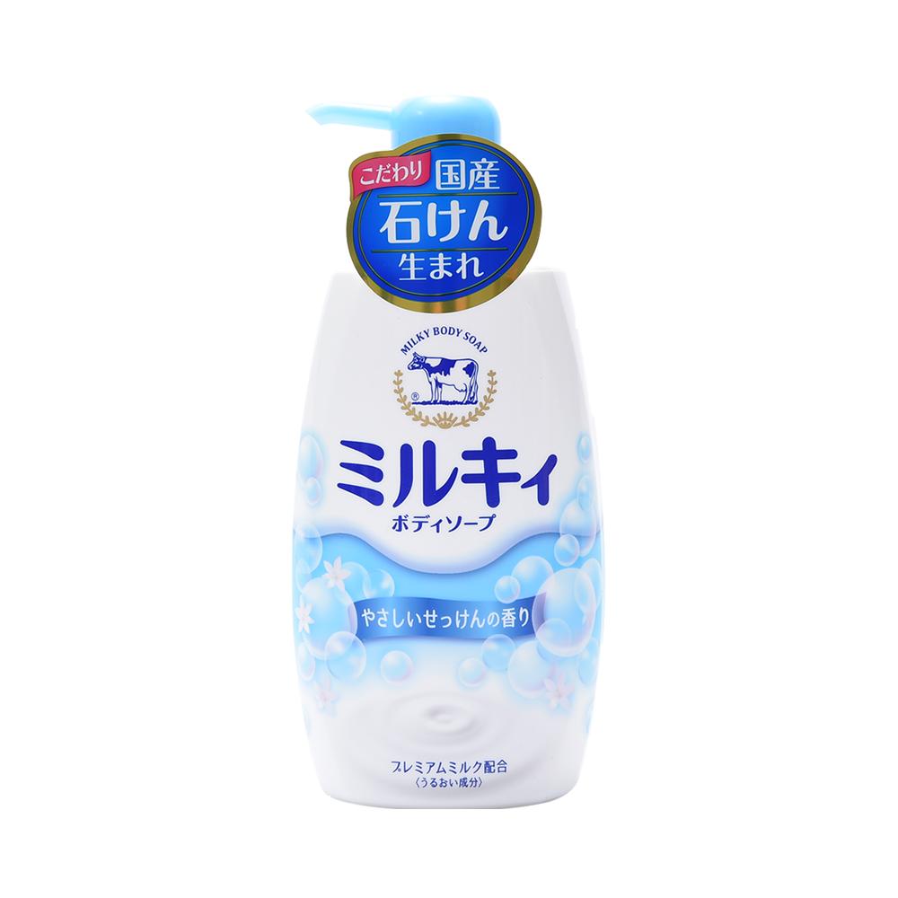 COW 牛乳石碱共进社 沐浴露 皂香型 550ml