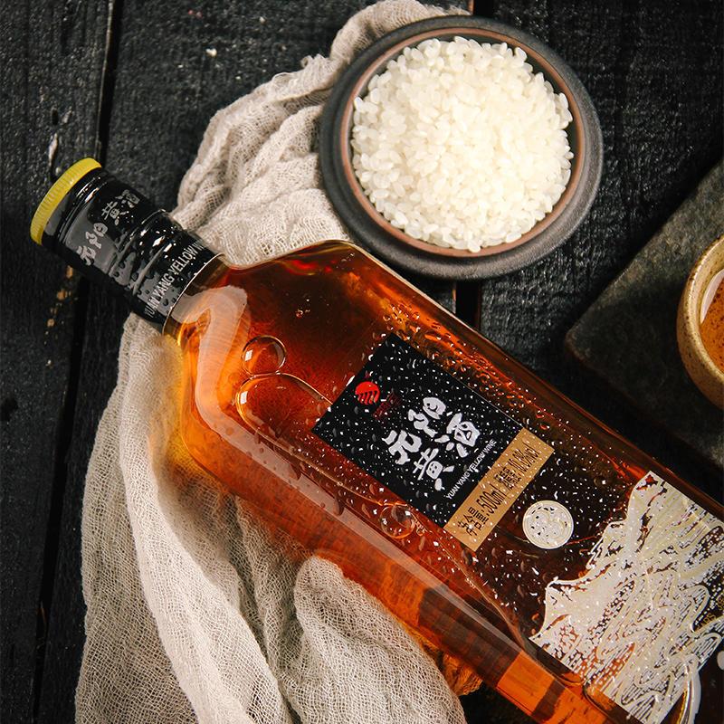 元阳黄酒 半干型 红米黄酒 梯田红米精酿,3年陈,10度低度酒,500ml/瓶