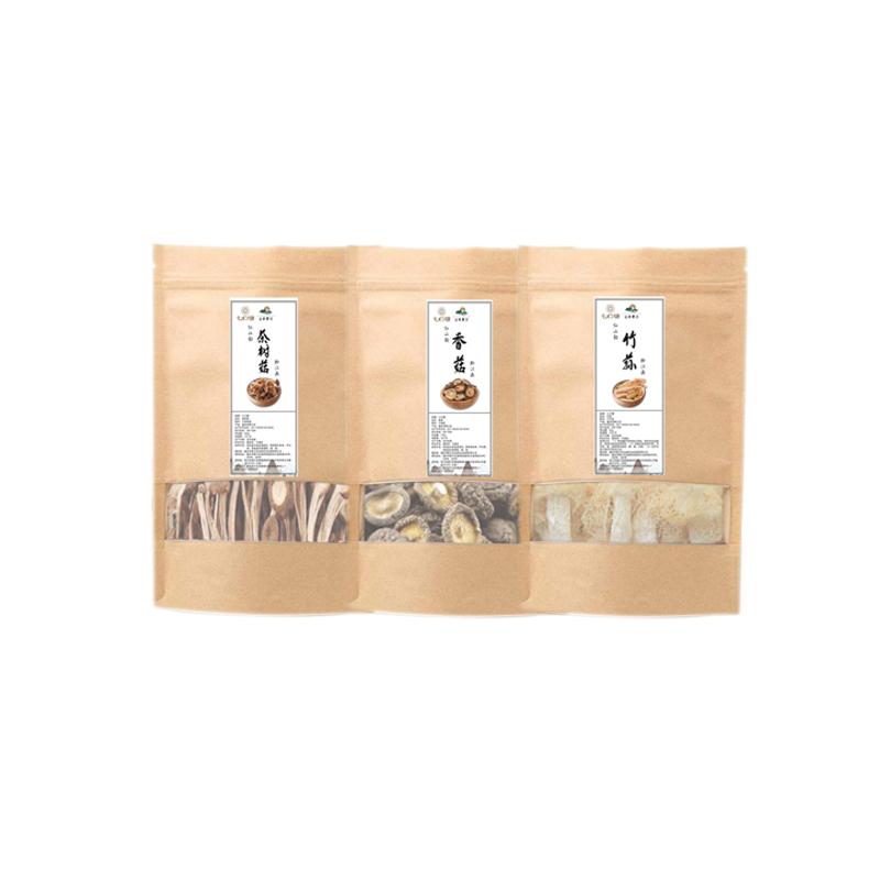 重庆黔江山珍干货372g(茶树菇、香菇、竹荪)