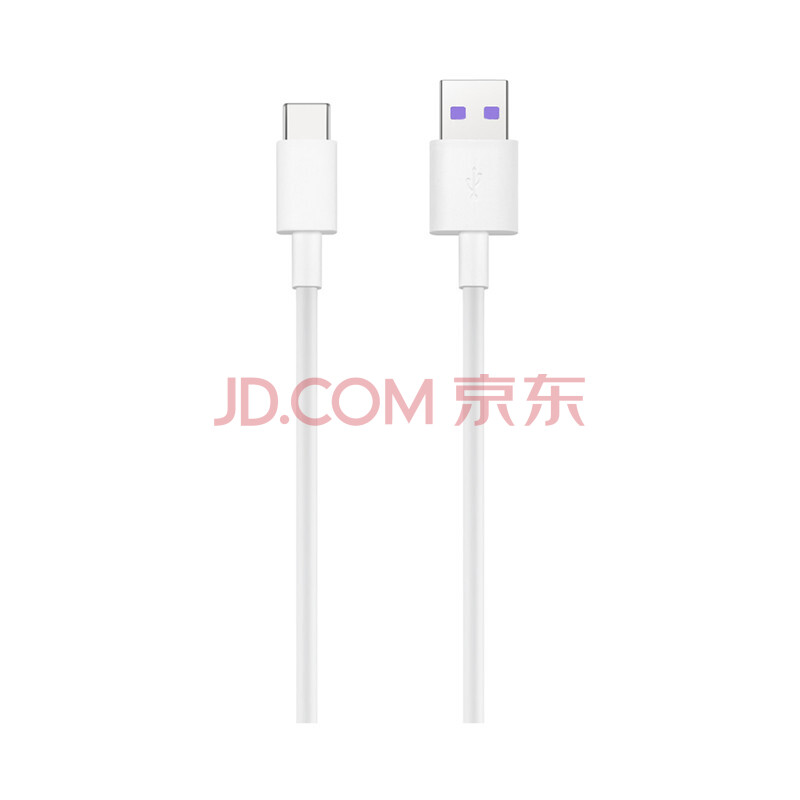 荣耀原装 5A Type C 数据线/充电线/快充  AP71 白色 适用与荣耀10/荣耀V10/荣耀Note10系列等,华为(HUAWEI)