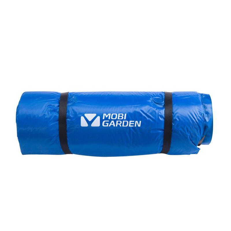 牧高笛 露营野营带枕头可拼接双人防潮垫自动充气垫 NXL1534001 天蓝