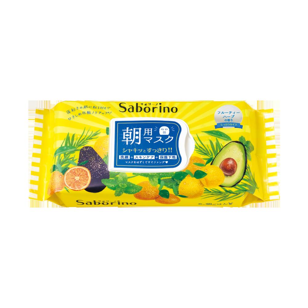 BCL Saborino早安面膜 滋润牛油果 32片