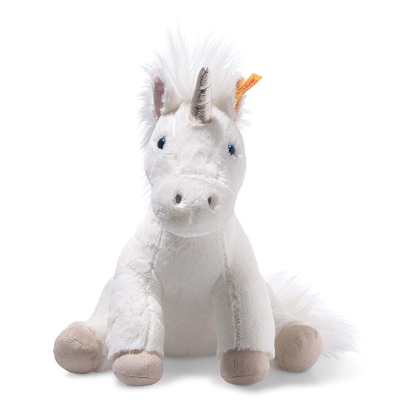 德国Steiff毛绒玩具Unica独角兽白色 35cm 4001505087769