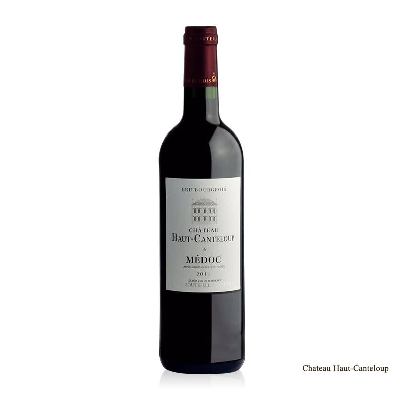 法国梅多克产区中级酒庄酒 特伦普城堡干红2011年份酒 单支750ml