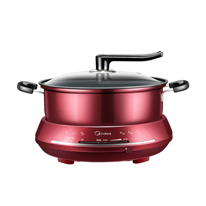美的(Midea)DHY28 分體式家用多功能電熱不粘鍋電火鍋