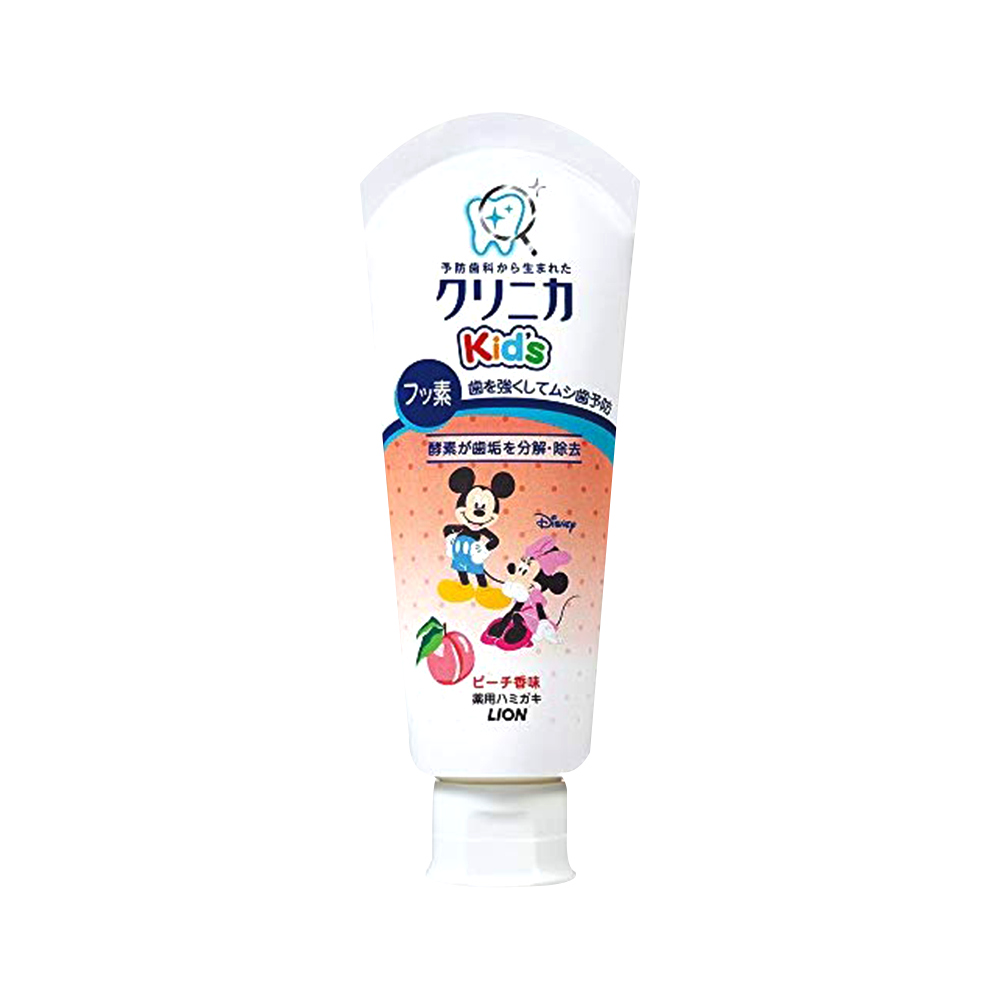 LION 狮王 CLINICA儿童牙膏 清新桃香型 60g