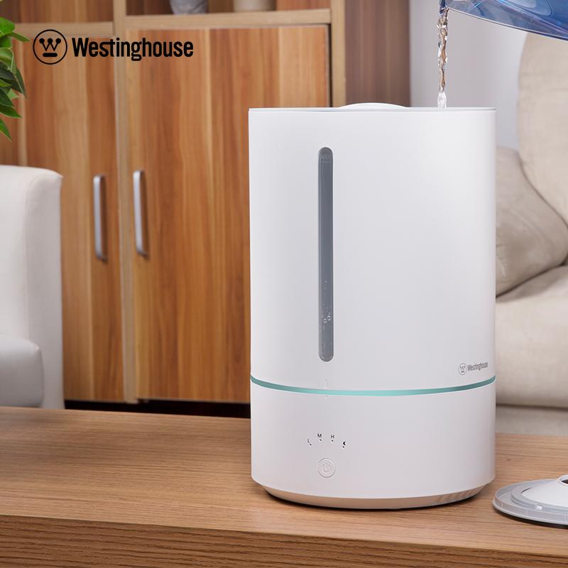 西屋 加濕器 5L大容量 靜音 便捷上加水 空氣加濕WHU-5000