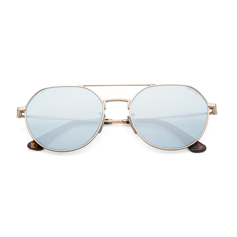 意大利POLICE男女平镜圆框眼镜潮流太阳镜SPL636N