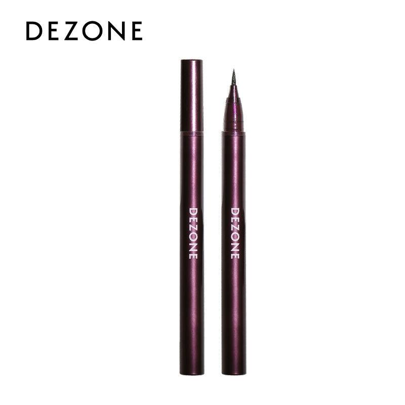 【0差評產品】DEZONE 流暢速干 持久眼線筆 小紫管 防水防汗不易暈妝 易上色 黑色 0.5ml