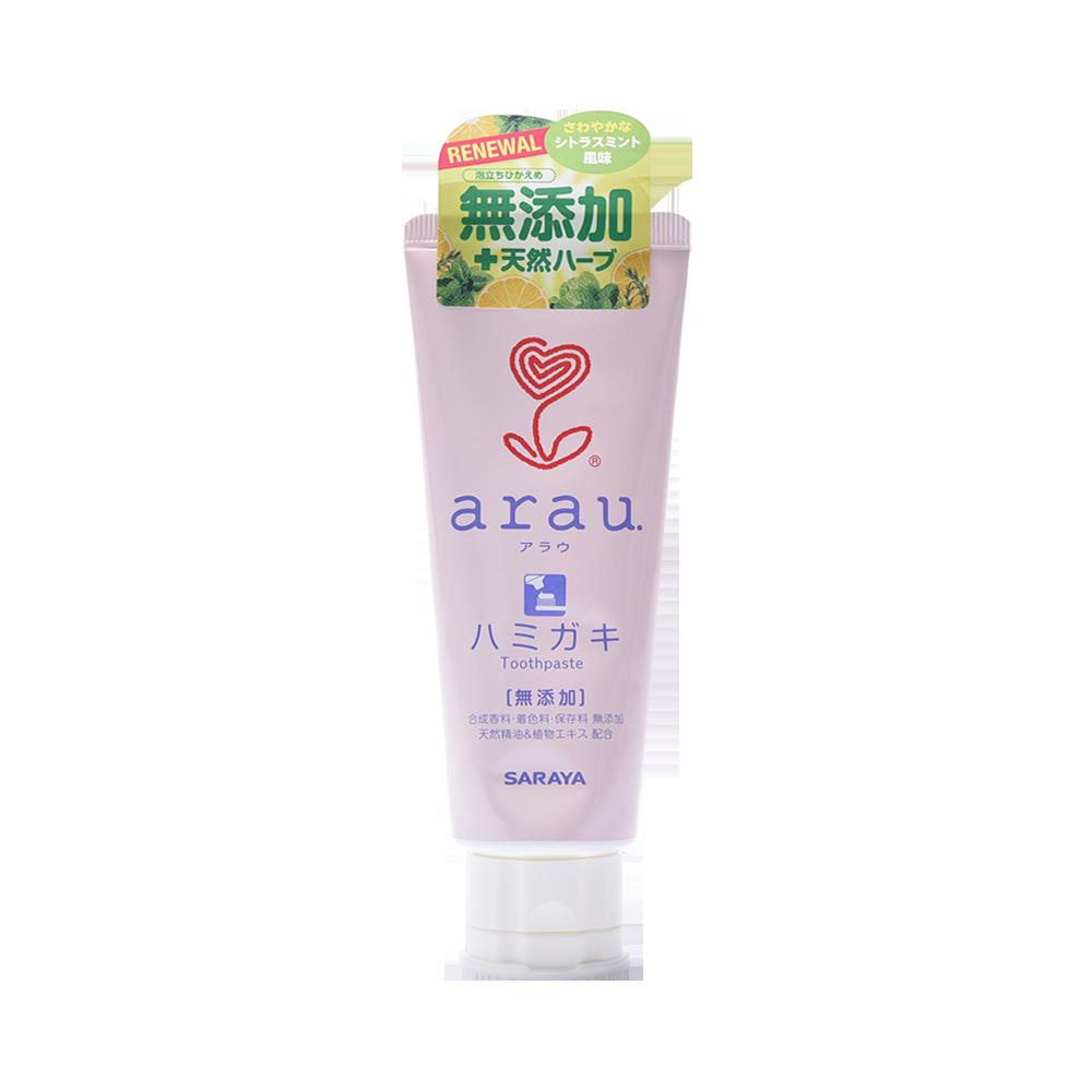 ARAU 亲皙 无酒精无添加表面活性剂牙膏 120g