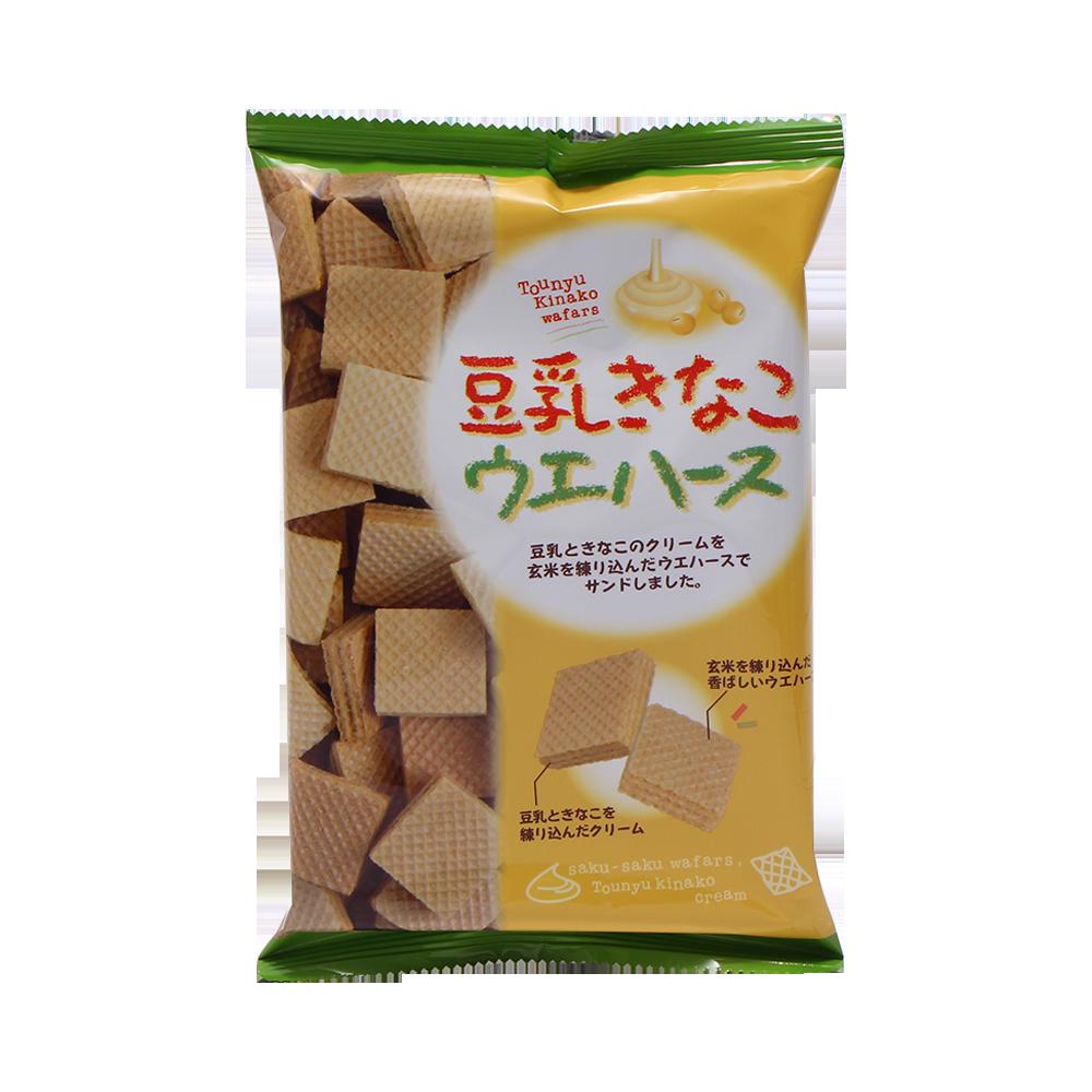 MIURA 三浦制果 香脆威化饼干 豆乳黄豆味 30枚
