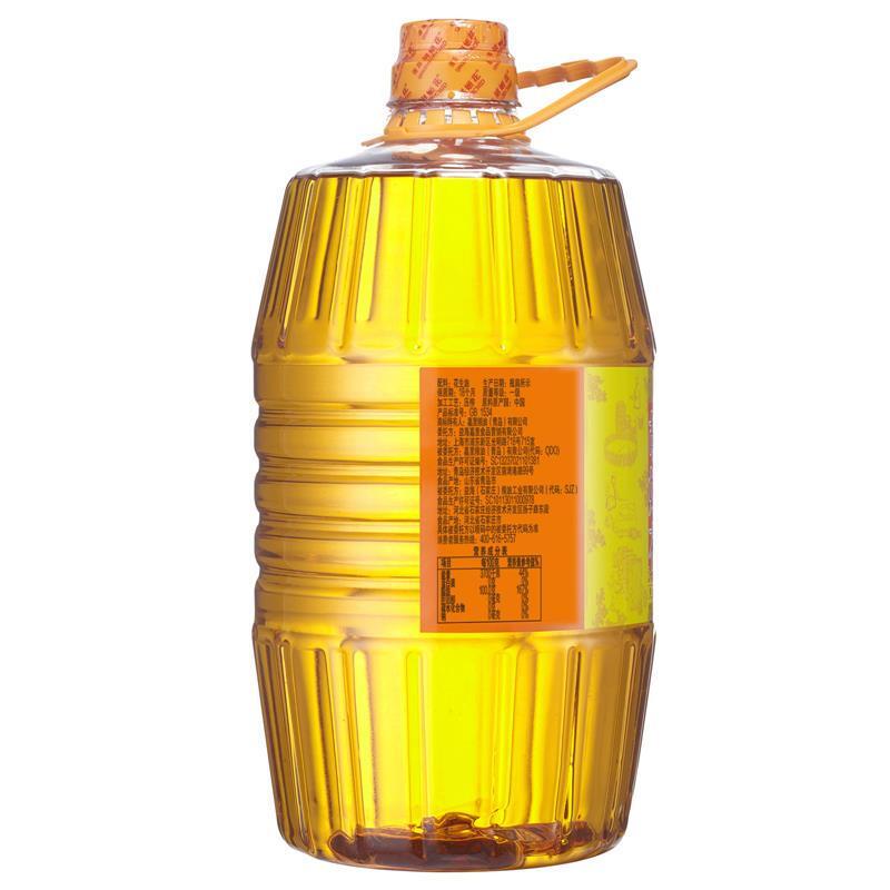 胡姬花 食用油 壓榨一級 特香型花生油5L