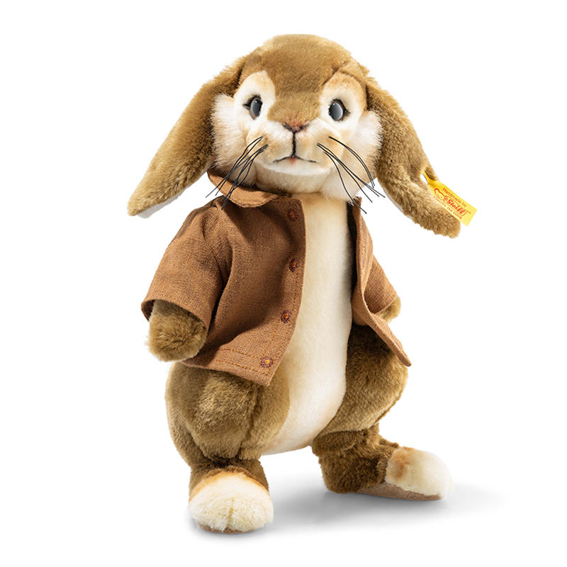 德国Steiff毛绒玩具本杰明玩具兔棕色 26cm 4001505355257
