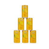 泰國原裝進口芭提婭(CHABAA)果汁飲料 芒果味 170ml*6罐,CHABAA