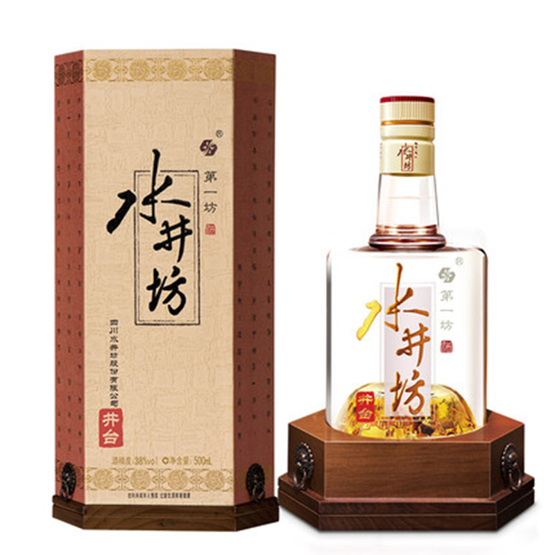 水井坊 井台浓香型 52度500ml单瓶装
