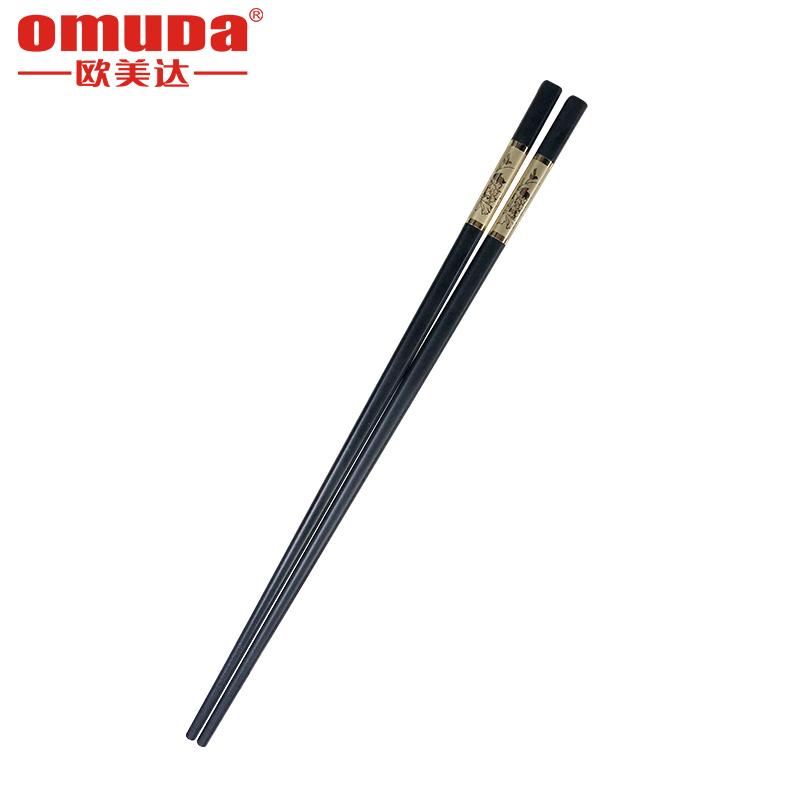 欧美达 花开富贵筷子(合金筷)