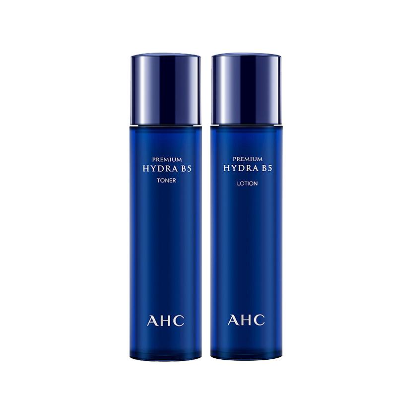 爱和纯 B5玻尿酸补水护肤两件套 水120ml+乳120ml(补水保湿 滋润肌肤)