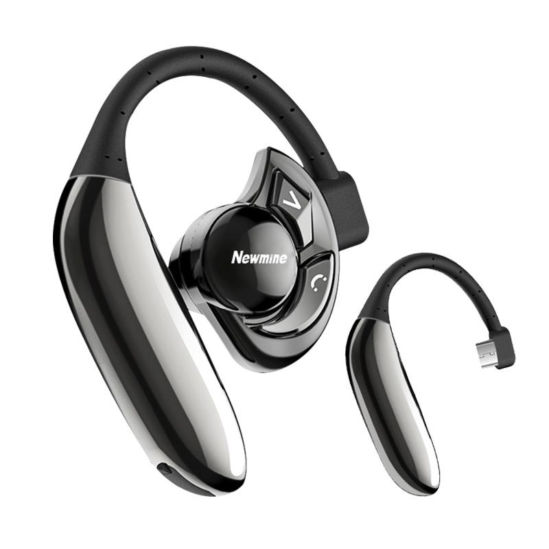 纽曼 (Newmine) SL86 UFO无线运动蓝牙耳机挂耳式单耳 商务超长待机高清通话
