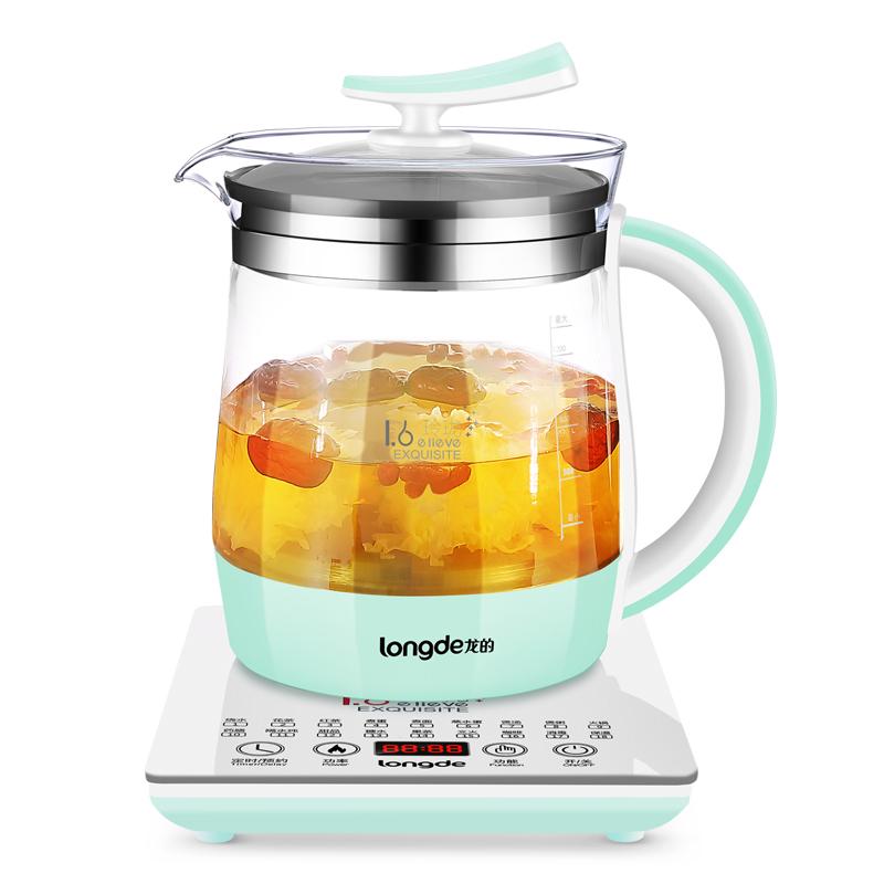 龙的养生壶加厚玻璃烧电热水壶 迷你养生杯煮水花茶壶LD-YS1520