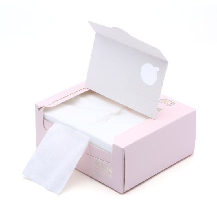 全棉时代 化妆棉 薄款盒装*4盒 800-000585-02