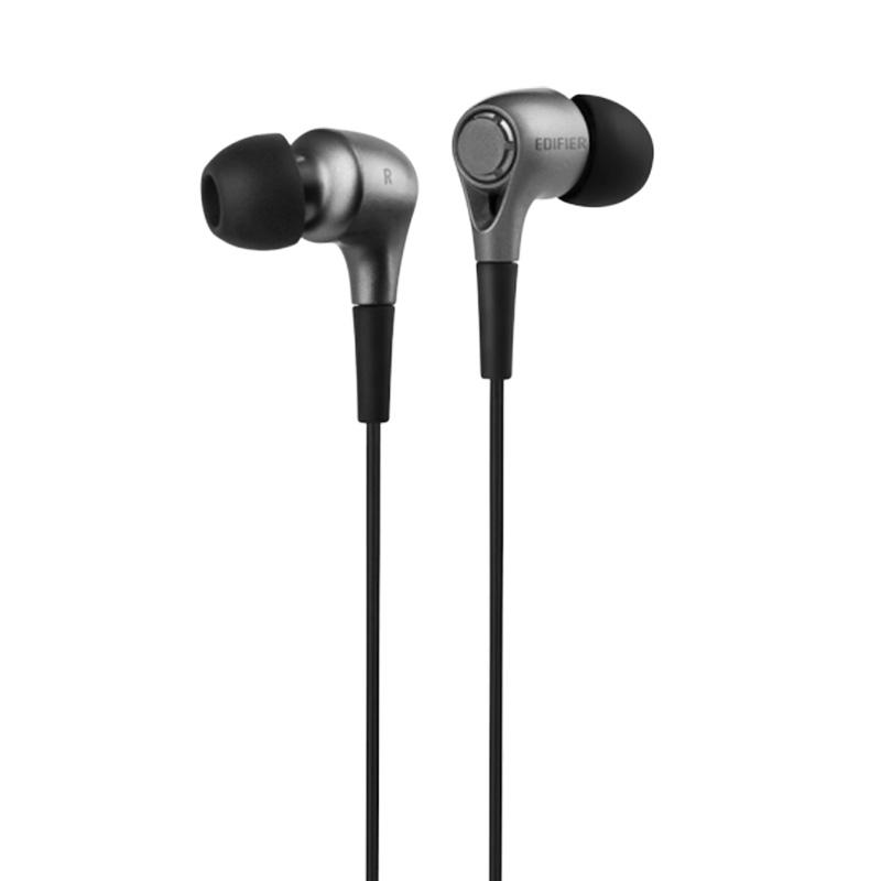 漫步者EDIFIER H230P 入耳式有线耳机  酷雅黑