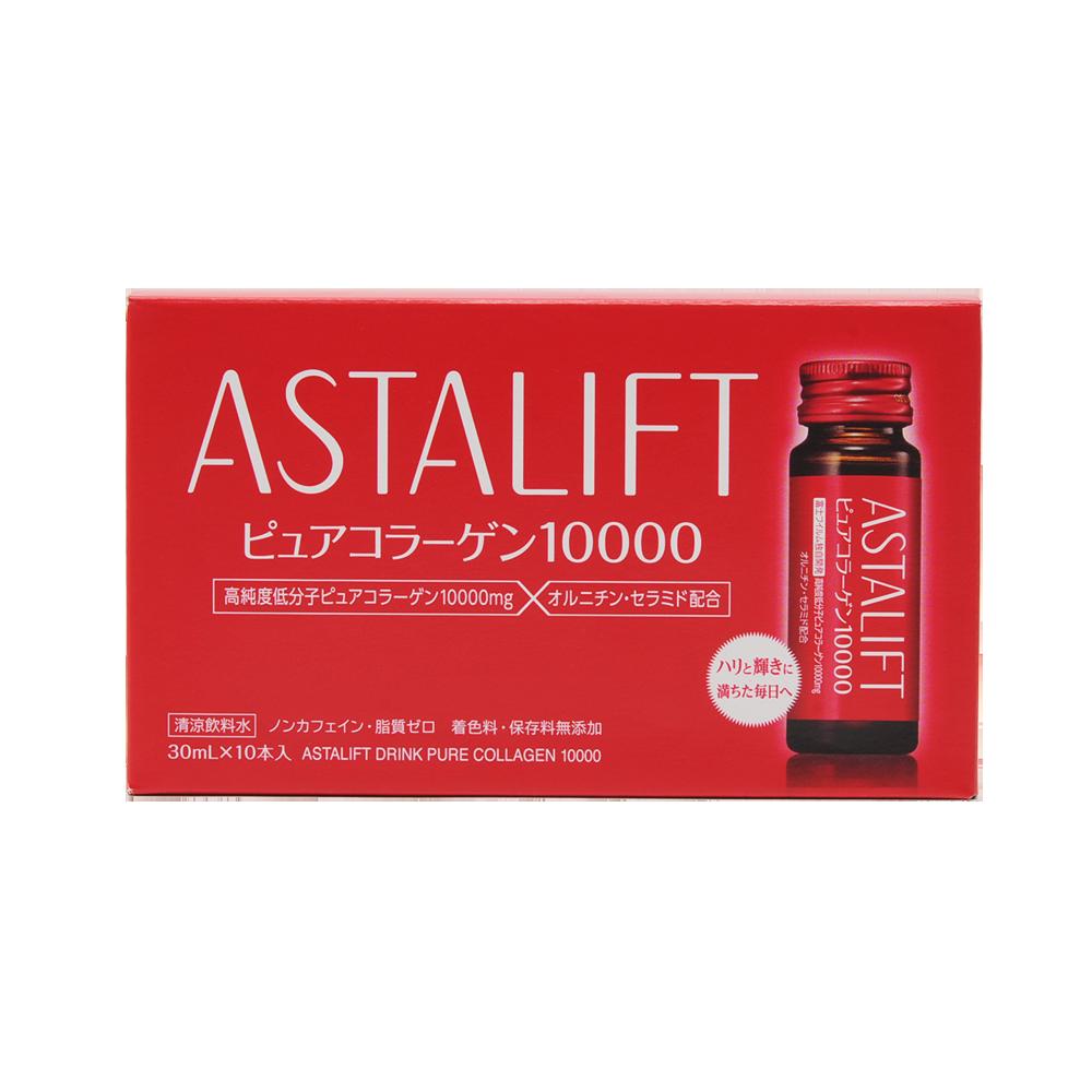 ASTALIFT 艾诗缇 胶原蛋白口服液(10000mg)30mlx10瓶装