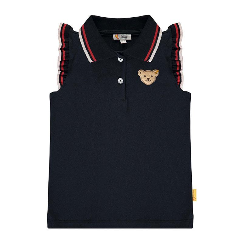 Steiff婴幼儿针织POLO衫 德国进口 无袖针织小熊短袖 L002012516
