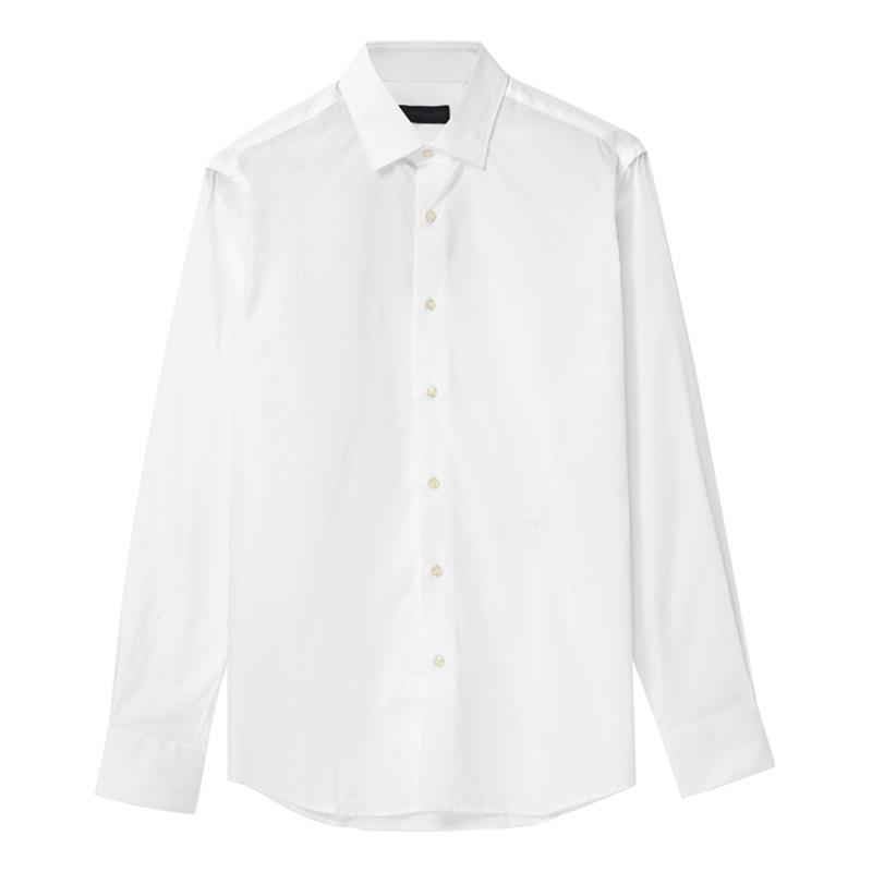 Trussardi/白色男士长袖衬衫