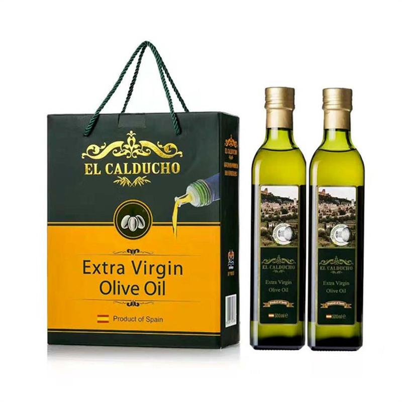 福萊亞 特級初榨橄欖油禮盒 500ml*2 西班牙原裝進口