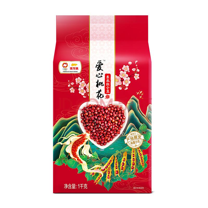 金龙鱼 红豆 东北红小豆 1kg 小豆 杂粮 粗粮 真空装,金龙鱼