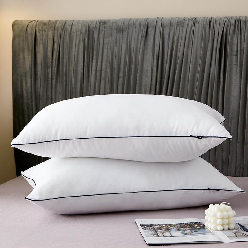依娜家纺五星酒店枕芯 白色48x74cm