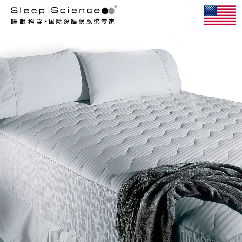 Sleep Science美国睡眠科学进口床垫保护罩 加厚床笠床垫床褥保护垫 厚实柔软耐用 300针精梳棉全进口