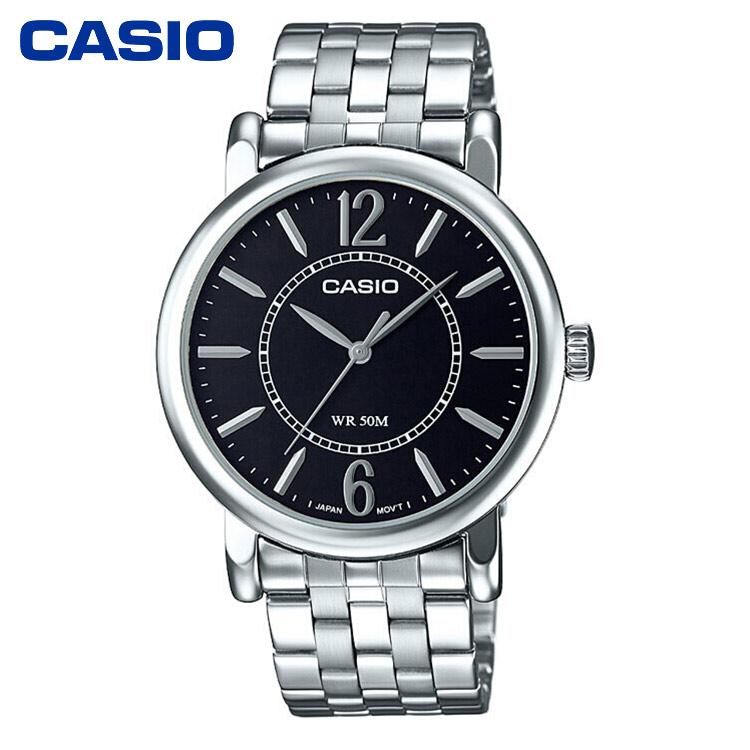 CASIO卡西欧MTH-1058简约防水石英男士手表商务男表